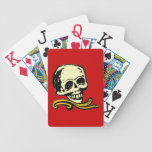 Customizable Vintage Decorative Skull Card Decks