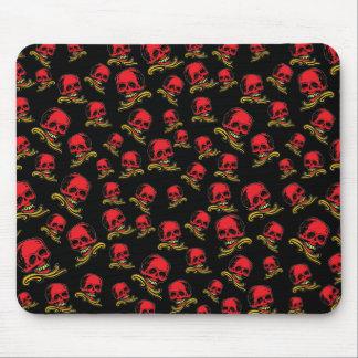 Customizable Vintage Decorative Skull Mouse Pad