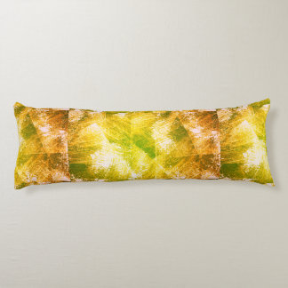Customizable Vintage Gold Scratches Body Pillow