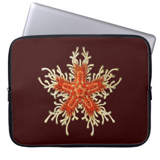 Customizable Vintage Haeckel Starfish Laptop Sleeve