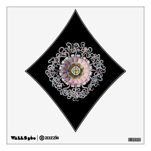 Customizable Vintage Haeckel Wall Sticker