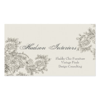 Customizable Vintage Inspired Business Card