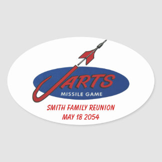 Customizable Vintage Jarts Sticker