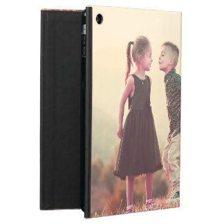 customizable vintage kissing kids under sun cover for iPad air