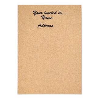 Customizable Vintage Paper Invitation