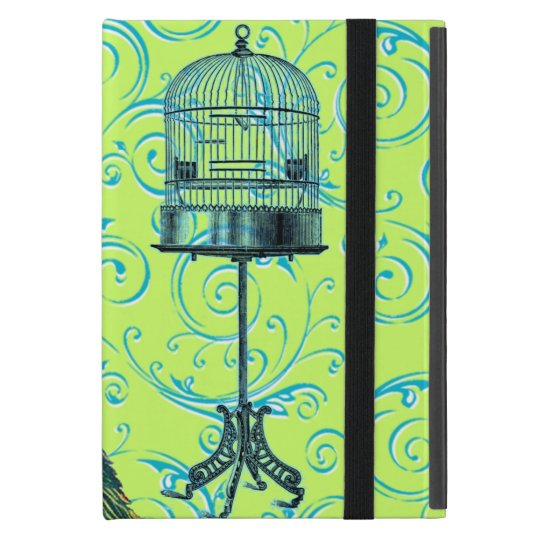 Customizable Vintage Peacock Swirl Case For iPad Mini