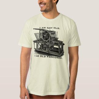 Customizable Vintage Printing Press T-Shirt