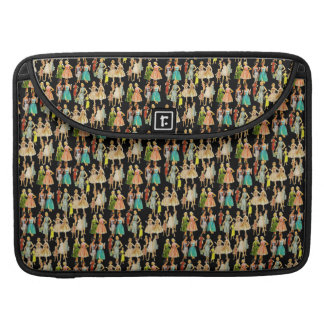 Customizable Vintage Retro Fashion Sleeve For MacBook Pro