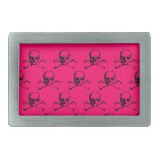 Customizable Vintage Skulls & Crossbones Belt Buckle