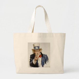 Customizable Vintage Uncle  Sam Bags
