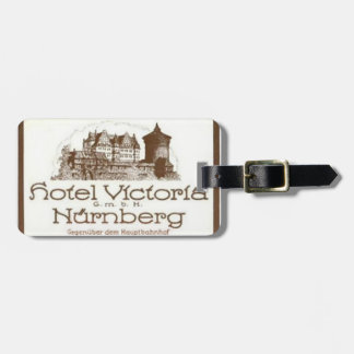 Customizable Vintage Victorian Luggage Tag