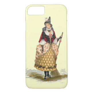 Customizable Vintage Witch iPhone 8/7 Case