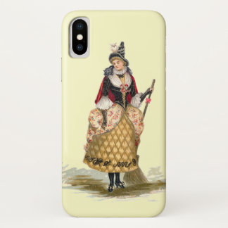 Customizable Vintage Witch iPhone X Case