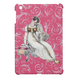 Customizable Vintage Woman Case For The iPad Mini