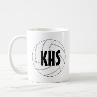 Customizable Volleyball Coffee Mug