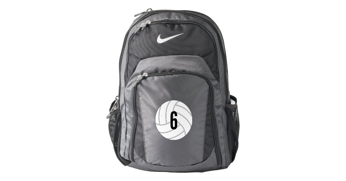 d1f03067b5b Customizable Volleyball Player Backpack   Zazzle.com