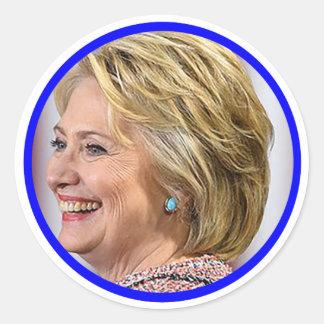 Customizable Vote Hillary 2016 Stickers