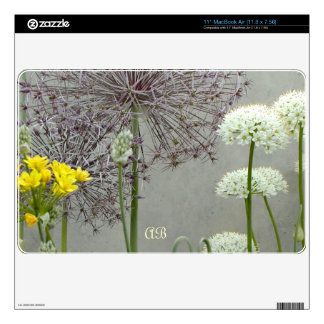 Customizable: Wall flowers Skins For The MacBook Air