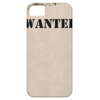 Customizable WANTED Poster iPhone SE/5/5s Case