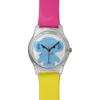 Customizable Watch with Elephant for Kids