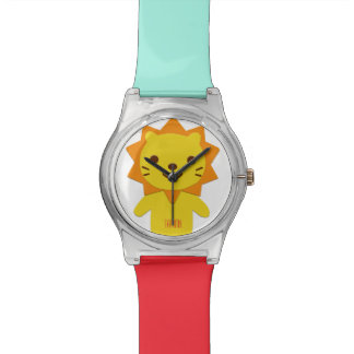 Customizable Watch with Lion for Kids