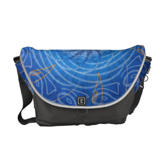 Customizable Water (Psychedelic spirograph) Messenger Bag