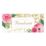 Customizable Watercolour Roses Gift Certificate