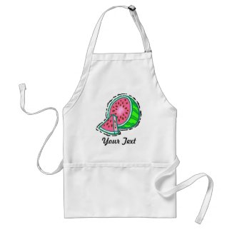 Customizable Watermelon Apron apron