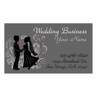 Customizable wedding business cards
