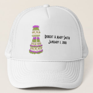 Customizable Wedding Cake Hat