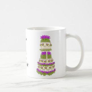 Customizable Wedding Cake Mug