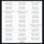 """Customizable wedding guest address labels sticker<br><div class=""""desc"""">Easy to personalize,  names and addresses / individual wedding shipping address label stickers for guests.</div>"""