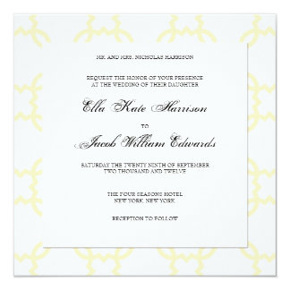Customizable Wedding Invitation