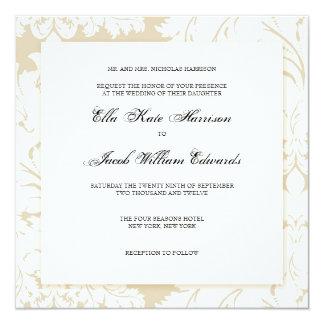Customizable Wedding Invitation :: DAMASK