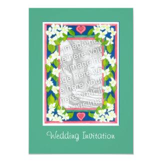 Customizable Wedding Invitation Photo Card