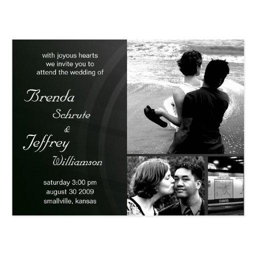 Customizable  Wedding Invitation Photos  Images Post Cards