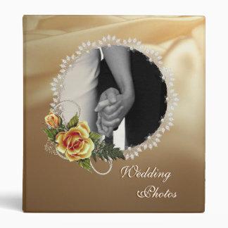 CUSTOMIZABLE Wedding Photo Album 3 Ring Binders