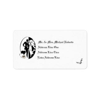 Customizable Wedding Return Address Label