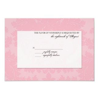 Customizable Wedding RSVP Card