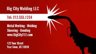 Welding business cards templates zazzle customizable welding business card colourmoves