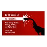 CUSTOMIZABLE Welding Business Card