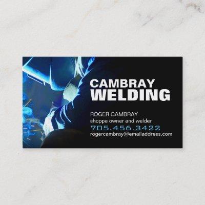 welding inspector business card zazzlecom - Welding Business Cards