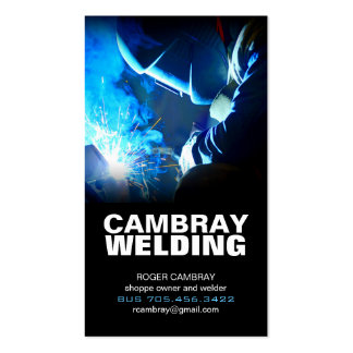 Welding Business Cards & Templates