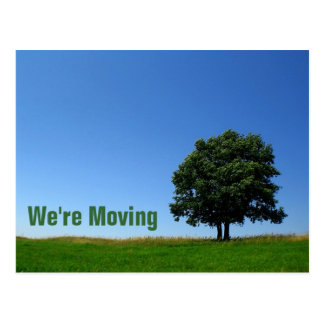 Customizable : We're Moving Postcard