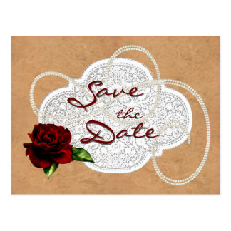 CUSTOMIZABLE Western Save the Date Card