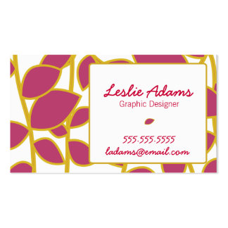 Customizable Whimsical Business Card