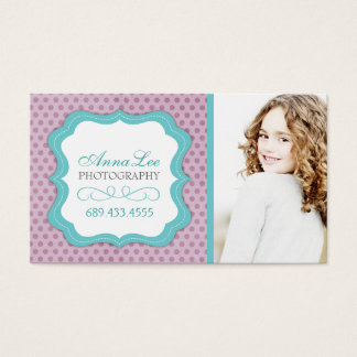 Customizable Whimsical Photographer Business Cards