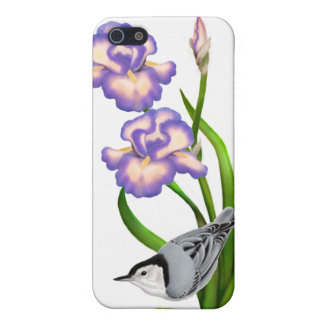 Customizable White Bellied Nuthatch Speck Case