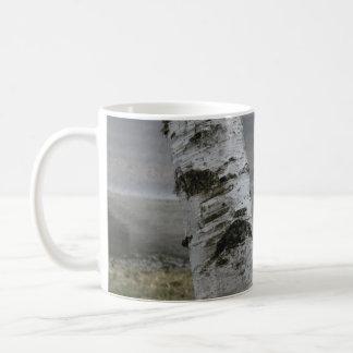Customizable White Birch Mug