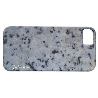 Customizable White Granite iPhone 5 Case - Cover